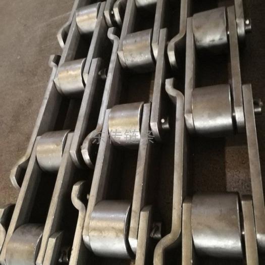 弯板直板结合滚子链